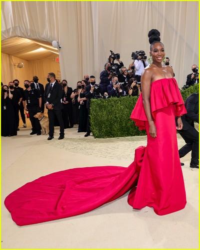 Venus Williams on the Met Gala 2021 Red Carpet