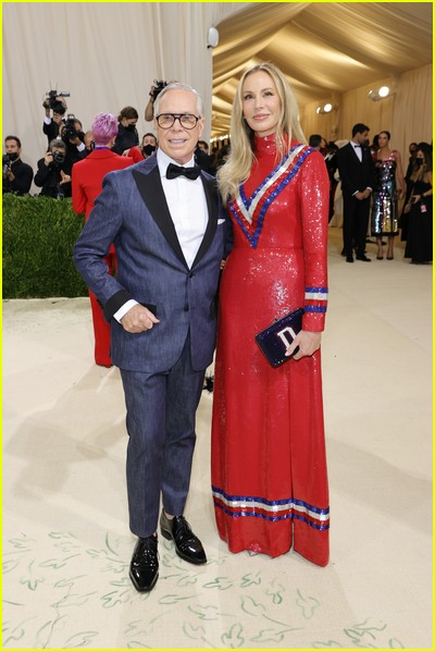 Tommy Hilfiger, Dee Hilfiger on the Met Gala 2021 Red Carpet