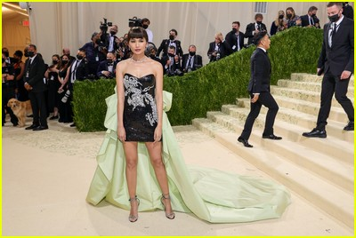 Gemma Chan on the Met Gala 2021 Red Carpet