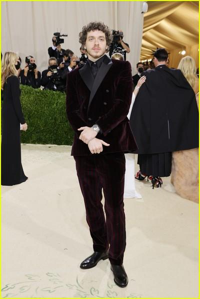 Jack Harlow on the Met Gala 2021 Red Carpet