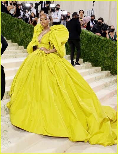 Normani on the Met Gala 2021 Red Carpet