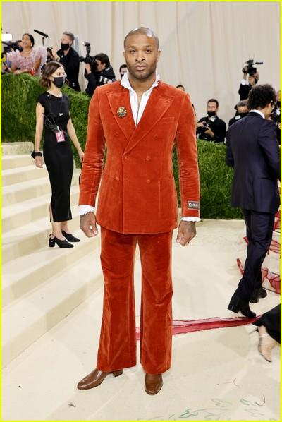 PJ Tucker  on the Met Gala 2021 Red Carpet