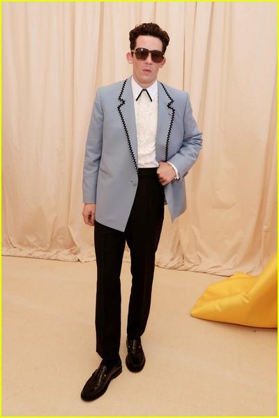 Josh O'Connor on the Met Gala 2021 Red Carpet