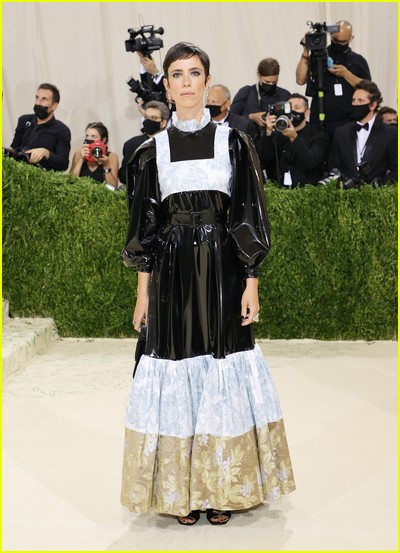 Rebecca Hall on the Met Gala 2021 Red Carpet