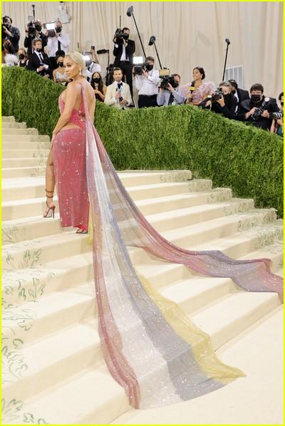 Saweetie on the Met Gala 2021 Red Carpet