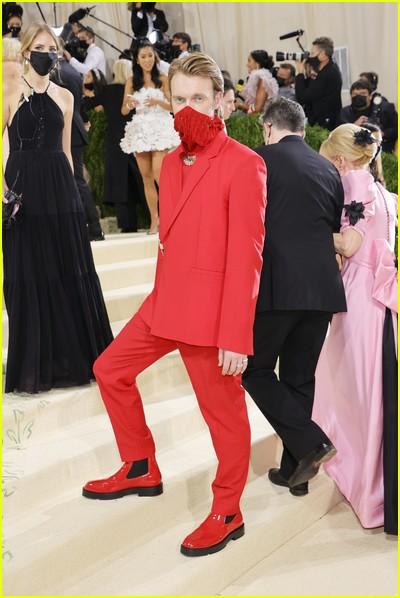 Finneas on the Met Gala 2021 Red Carpet