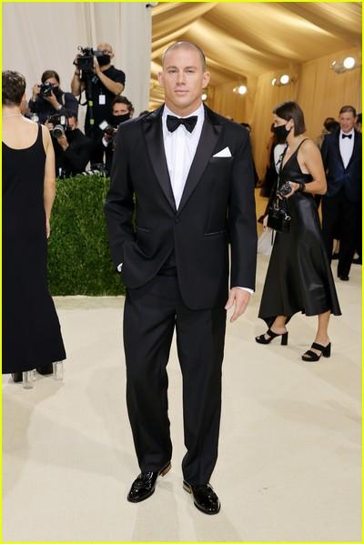 Channing Tatum on the Met Gala 2021 Red Carpet