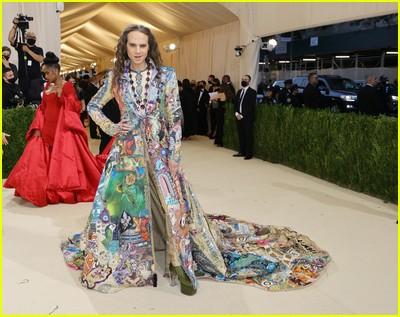 Jordan Roth on the Met Gala 2021 Red Carpet