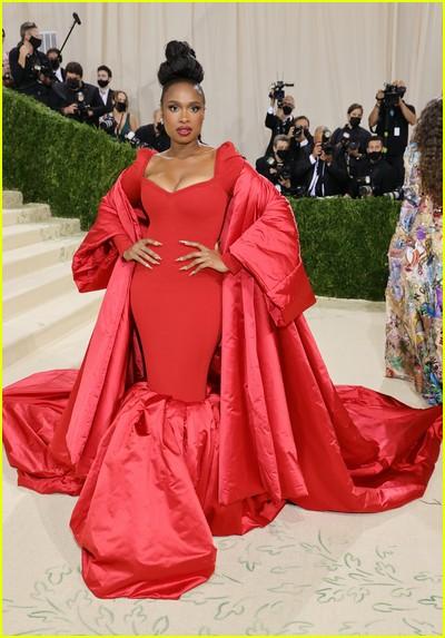Jennifer Hudson on the Met Gala 2021 Red Carpet