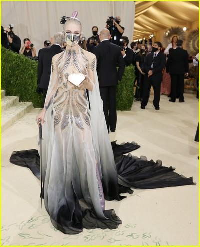 Grimes on the Met Gala 2021 Red Carpet