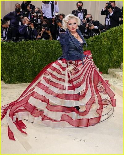 Debbie Harry on the Met Gala 2021 Red Carpet