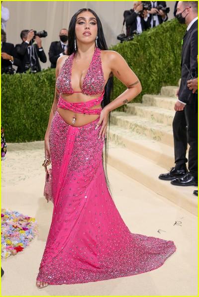 Lourdes Leon on the Met Gala 2021 Red Carpet