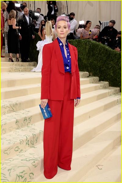 Megan Rapinoe on the Met Gala 2021 Red Carpet