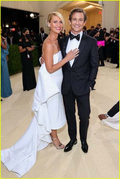 Claire Danes and Hugh Dancy on the Met Gala 2021 Red Carpet