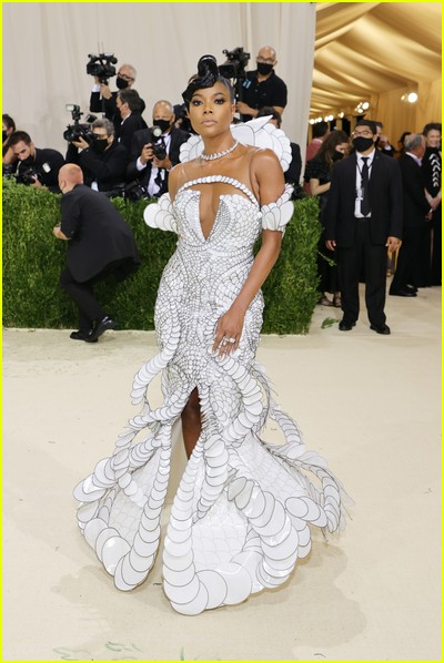 Gabrielle Union on the Met Gala 2021 Red Carpet