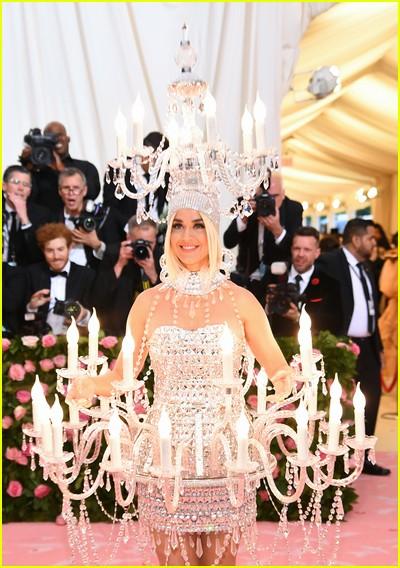 Katy Perry at a previous Met Gala