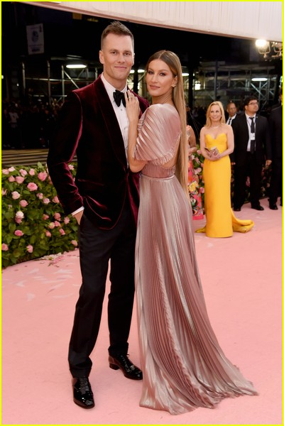 Tom Brady and Gisele Bundchen at a previous Met Gala