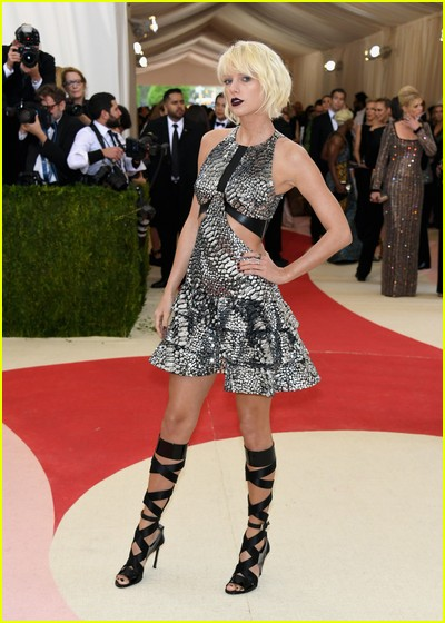 Taylor Swift at a previous Met Gala