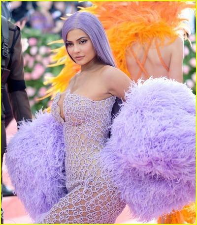 Kylie Jenner at a previous Met Gala