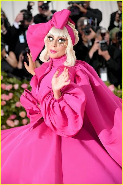 Lady Gaga at a previous Met Gala