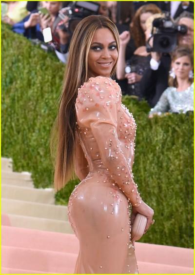 Beyonce at a previous Met Gala