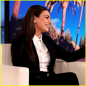Mila Kunis Defends Her Stance on the Bathing Controversy, But Then Jokes She's Making it Worse (Video)