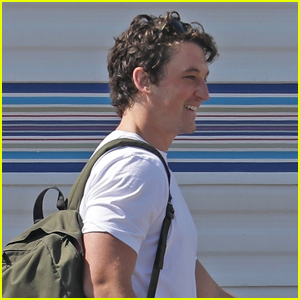 Miles Teller Returns to the Set of 'The Offer' After Reported COVID-19 Production Shutdown