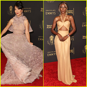 Ming-Na Wen Looks Heavenly at Creative Arts Emmy Awards 2021 With Angelica Ross & More