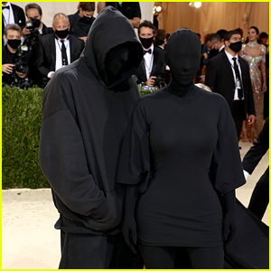 Identity of Mystery Man Posing with Kim Kardashian at Met Gala 2021 Revealed (& It's Not Kanye West)