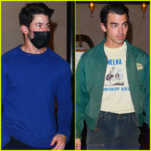 Nick & Joe Jonas Hit the Streets of NYC Ahead of Their 'Remember This Tour' Concert