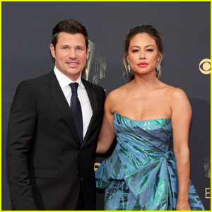 Nick & Vanessa Lachey Pair Up on the Emmy Awards 2021 Red Carpet
