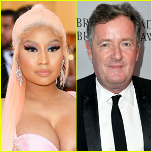 Nicki Minaj & Piers Morgan Are Feuding & Making Claims About One Another Amid Her Vaccine Stance
