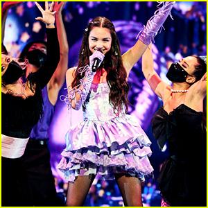 Olivia Rodrigo Rocks Out on VMAs Stage with 'Good 4 U' - Watch the Performance Video!