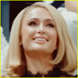 Paris Hilton Dances to 'Stars Are Blind' at US Open 2021 - Watch!
