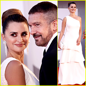 Penelope Cruz Attends the 'Official Competition' Venice Premiere with Antonio Banderas!