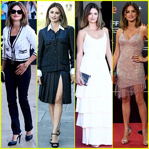 Penelope Cruz Wears Four Chic Looks in One Day at San Sebastian Film Festival!