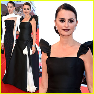 Penelope Cruz Walks Venice Film Festival Red Carpet With Co-Star Milena Smit For 'Madres Paralelas' Premiere