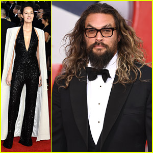 Jason Momoa Wears Glasses To 'No Time To Die' Premiere in London
