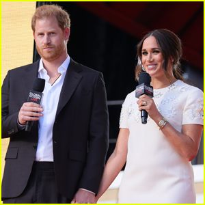 Prince Harry & Meghan Markle Promote COVID-19 Vaccines During Global Citizen Live 2021
