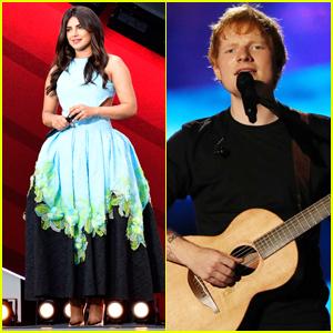 Priyanka Chopra, Ed Sheeran, & More Attend Global Citizen Live 2021 in Paris!