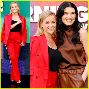 Reese Witherspoon & Julianna Margulies Step Out For 'The Morning Show' Season 2 Photo Call With Their Co-Stars!