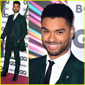 Rege-Jean Page Looks So Fine in His Emerald Suit at GQ Mean of the Year Awards 2021