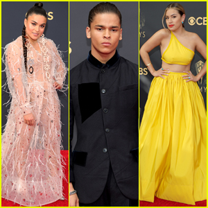 'Reservation Dogs' Stars D'Pharaoh Woon-A-Tai, Devery Jacobs & Paulina Alexis Step Out for the Emmys 2021