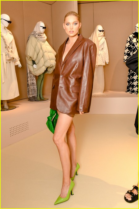 Elsa Hosk  at the Revolve Gallery event during NYFW