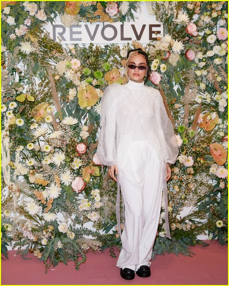 Kehlani at the Revolve Gallery event during NYFW