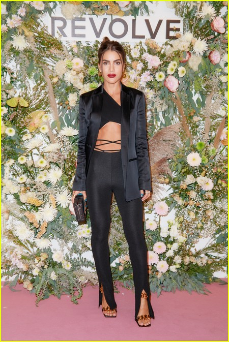 Camila Coelho at the Revolve Gallery event during NYFW