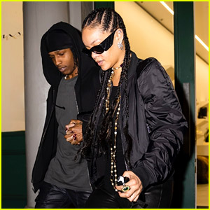 Rihanna & A$AP Rocky Holds Hands After Shopping Together in NYC