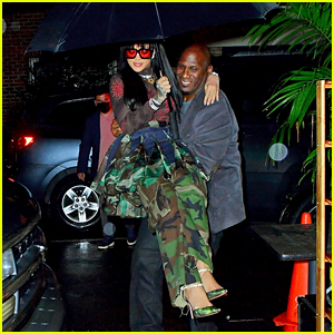 Rihanna's Bodyguard Carried Her from the Car to the Sidewalk - See the Photos!