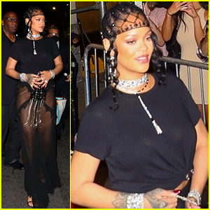 Rihanna Switches Up Her Look for Met Gala 2021 After Party!
