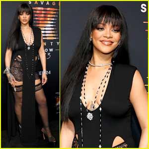 Rihanna Stuns at Savage X Fenty Show Premiere Event!
